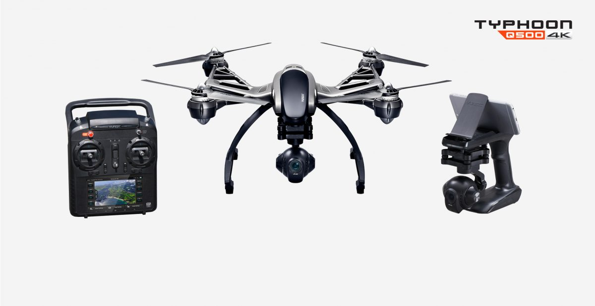 GearDiary Yuneec Typhoon Q500 4K Quadcopter Is an Aerial Photographer's Dream Come True!