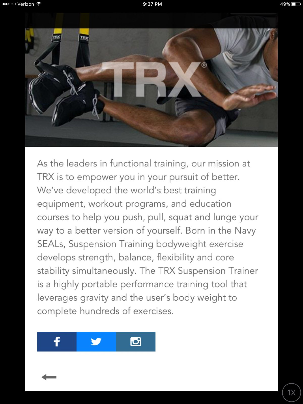 Pear Fitness Partners with TRX to Coach You From Your Phone!