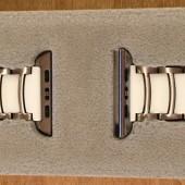 The Monowear Silver Ceramic Apple Watch Strap: Unexpected Femininity