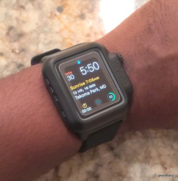 Protect Your Apple Watch from the Elements with the Catalyst Case