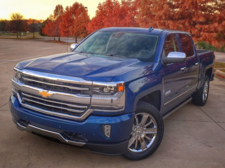 2016 Chevrolet Silverado 1500 High Country is Like Sittin' in High Cotton