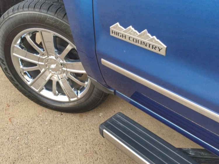 GearDiary 2016 Chevrolet Silverado 1500 High Country is Like Sittin' in High Cotton