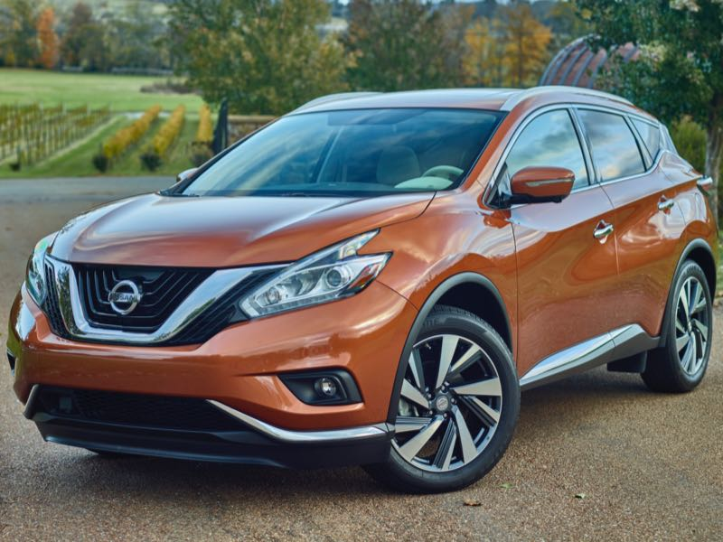 GearDiary 2015 Nissan Murano Sharpens the Cutting Edge