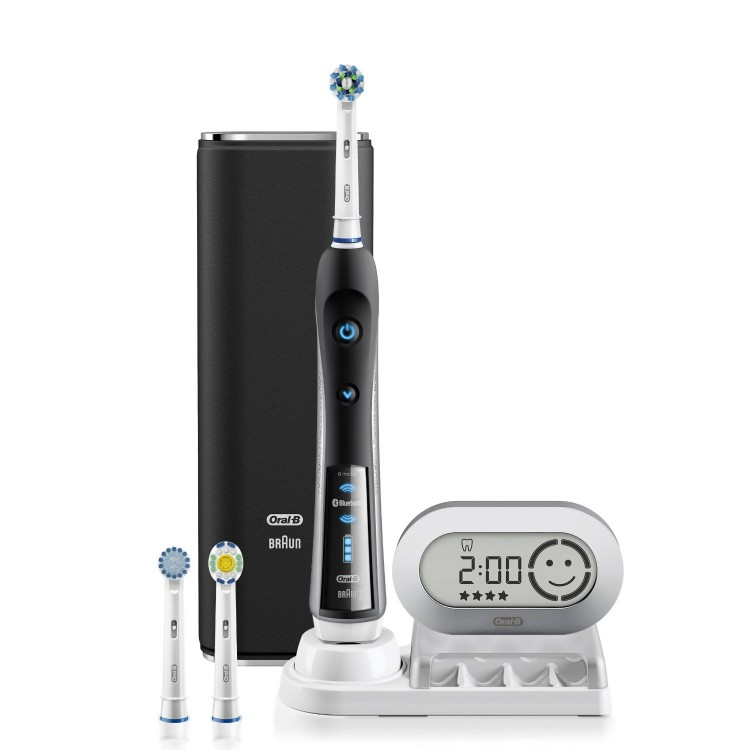 GearDiary The Oral-B Black 7000 Bluetooth Toothbrush Review: One Smart Brush!