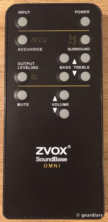 1-ZVOX SoundbarSB400 remote