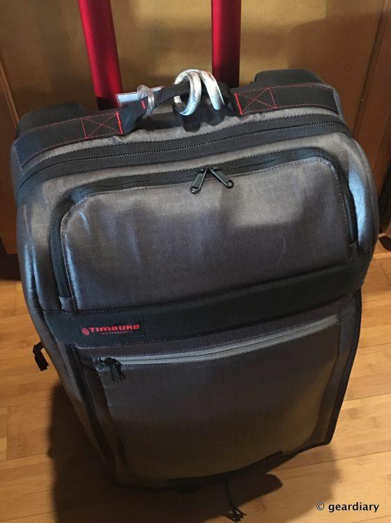 GearDiary Timbuk2 Medium Copilot Luggage Roller: Ready for Globetrotting