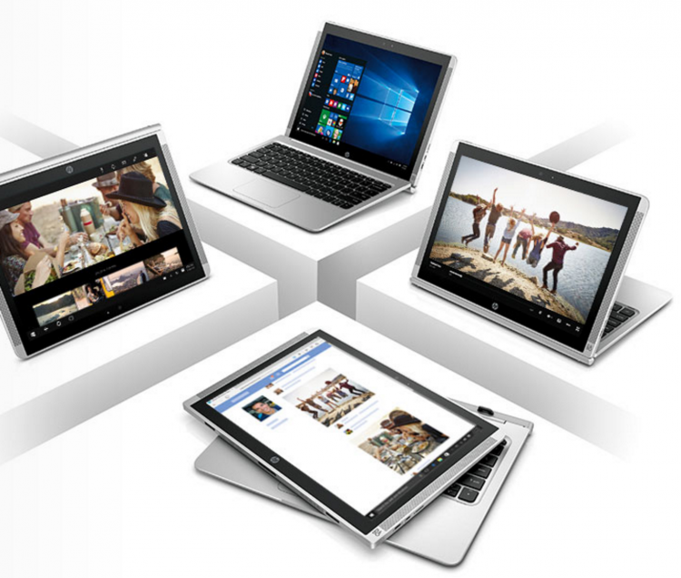 GearDiary HP Pavilion 12 x2: Accomplish More for Less with Four Modes, a Full HD+ Display, and a Full-Size Keyboard
