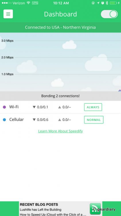 GearDiary Speedify Gives You Better Internet & Data Speeds on All of Your Devices