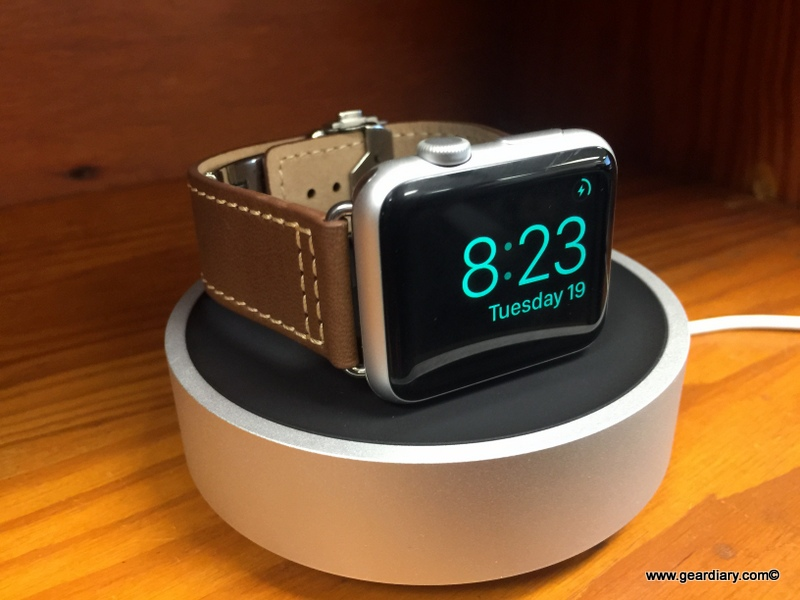 GearDiary Charge Your Apple Watch in Style with the HoverDock