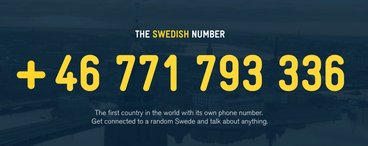 GearDiary Questions About Sweden? You Can Call a Random Swede and Ask Them Anything!