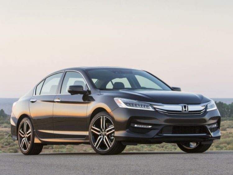 2016 Honda Accord/Images courtesy Honda