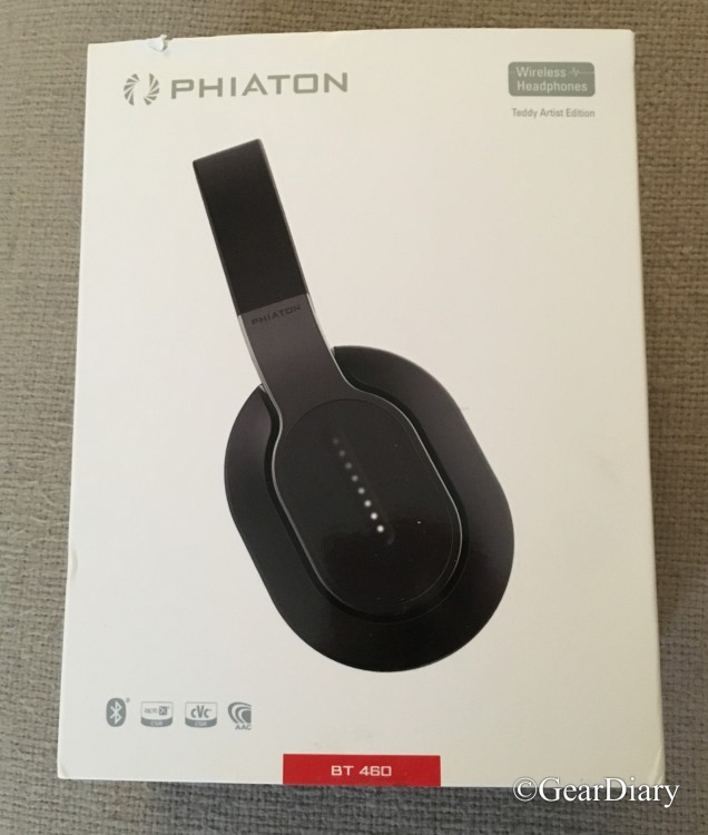 GearDiary Phiaton BT 460 Let You Cut the Cord and Keep the Sound