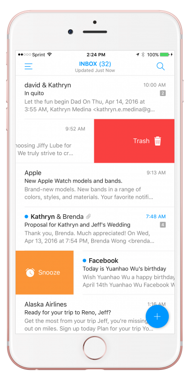 GearDiary 'Email' by EasilyDo Is the Closest We Will Ever Get to the 'MailBox' App Again