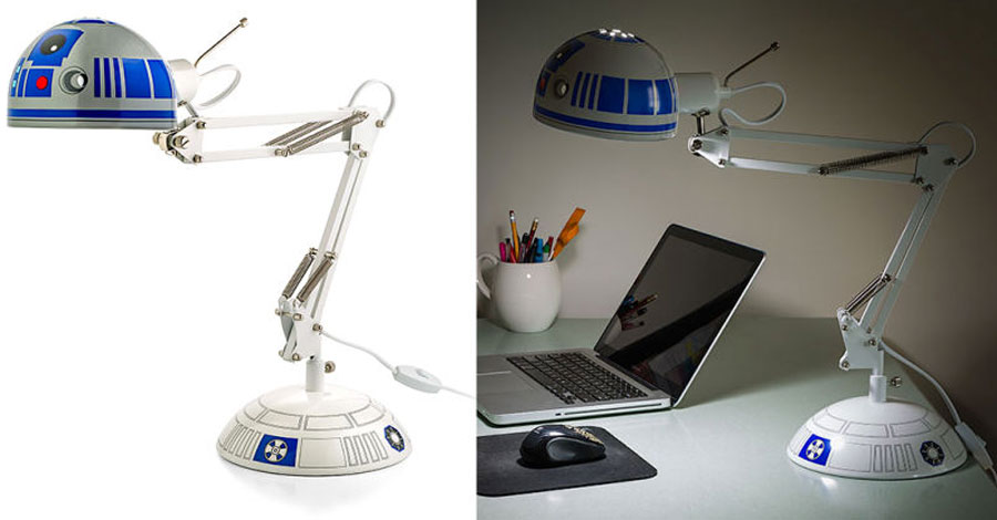 GearDiary R2-D2 Architectural Desk Lamp