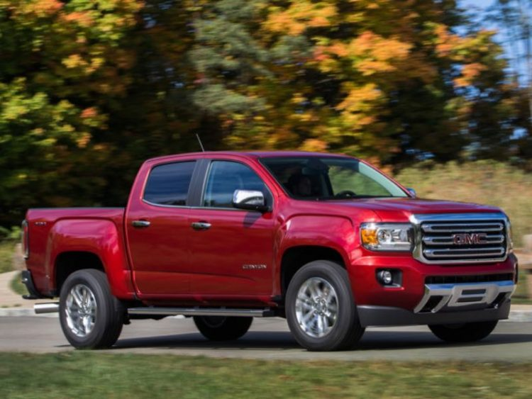 2016 GMC Canyon/Images courtesy GMC