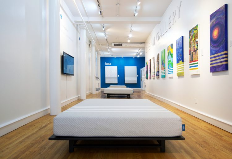 GearDiary Leesa and ArtLifting Team Up to Offer Limited Edition Mattress for a Good Cause