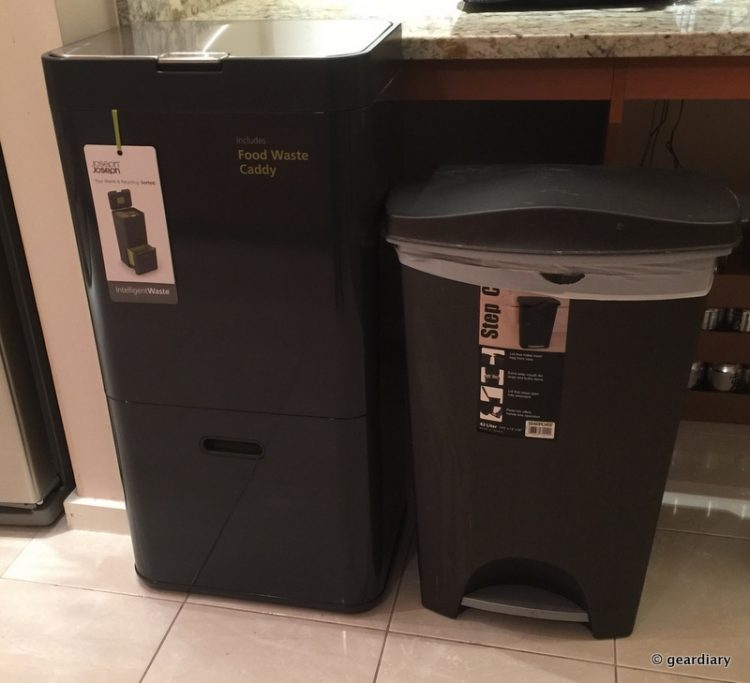 The Totem 60 versus my old trash can