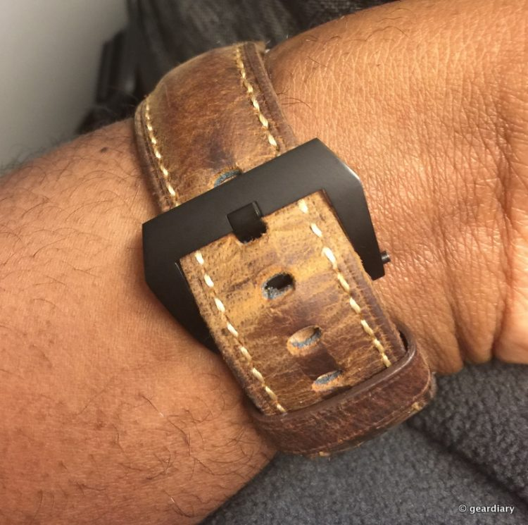 GearDiary Add A Bit of Elegance to Your Wrist With the Nomad Strap for Apple Watch