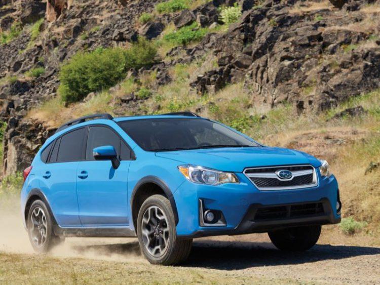 2016 Subaru Crosstrek/Images courtesy Subaru