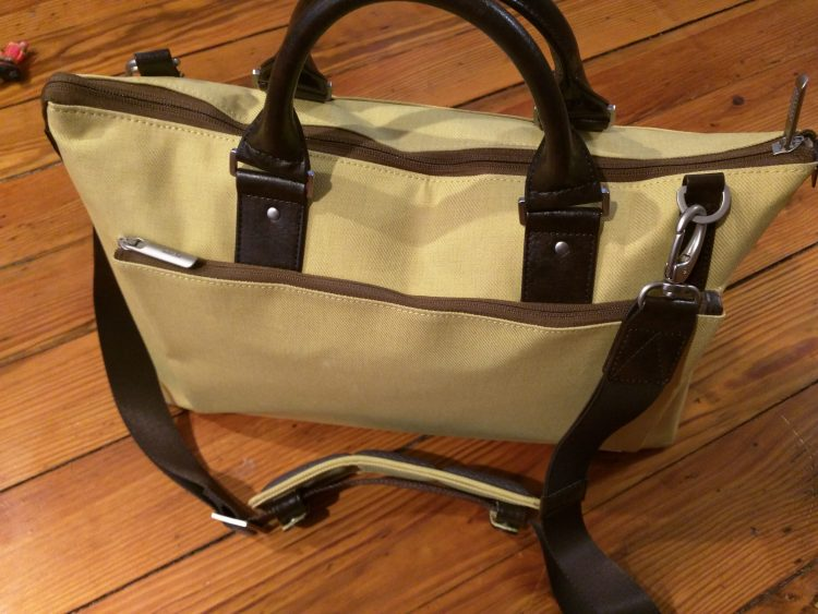 GearDiary Moshi Urbana Briefcase Review; Keep the Business Style Without Looking Boring!