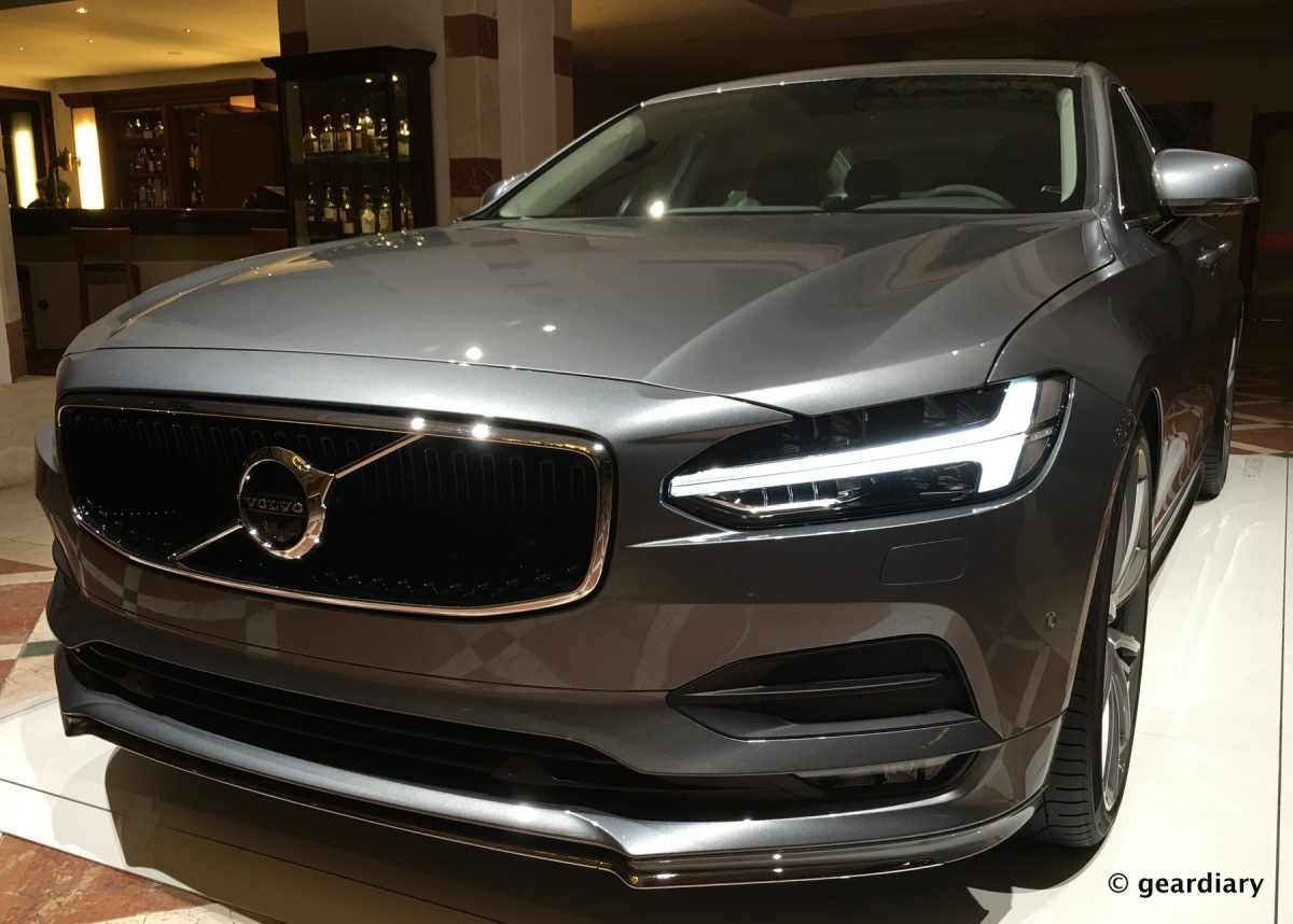 the new volvo s90 first drive comfortable elegant safe and loaded with tech. Black Bedroom Furniture Sets. Home Design Ideas
