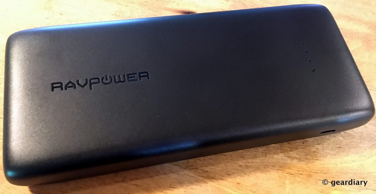 RAVPower 22000mAh External Battery Pack with Triple iSmart 2.0 USB Ports: Enough Power for Everything!