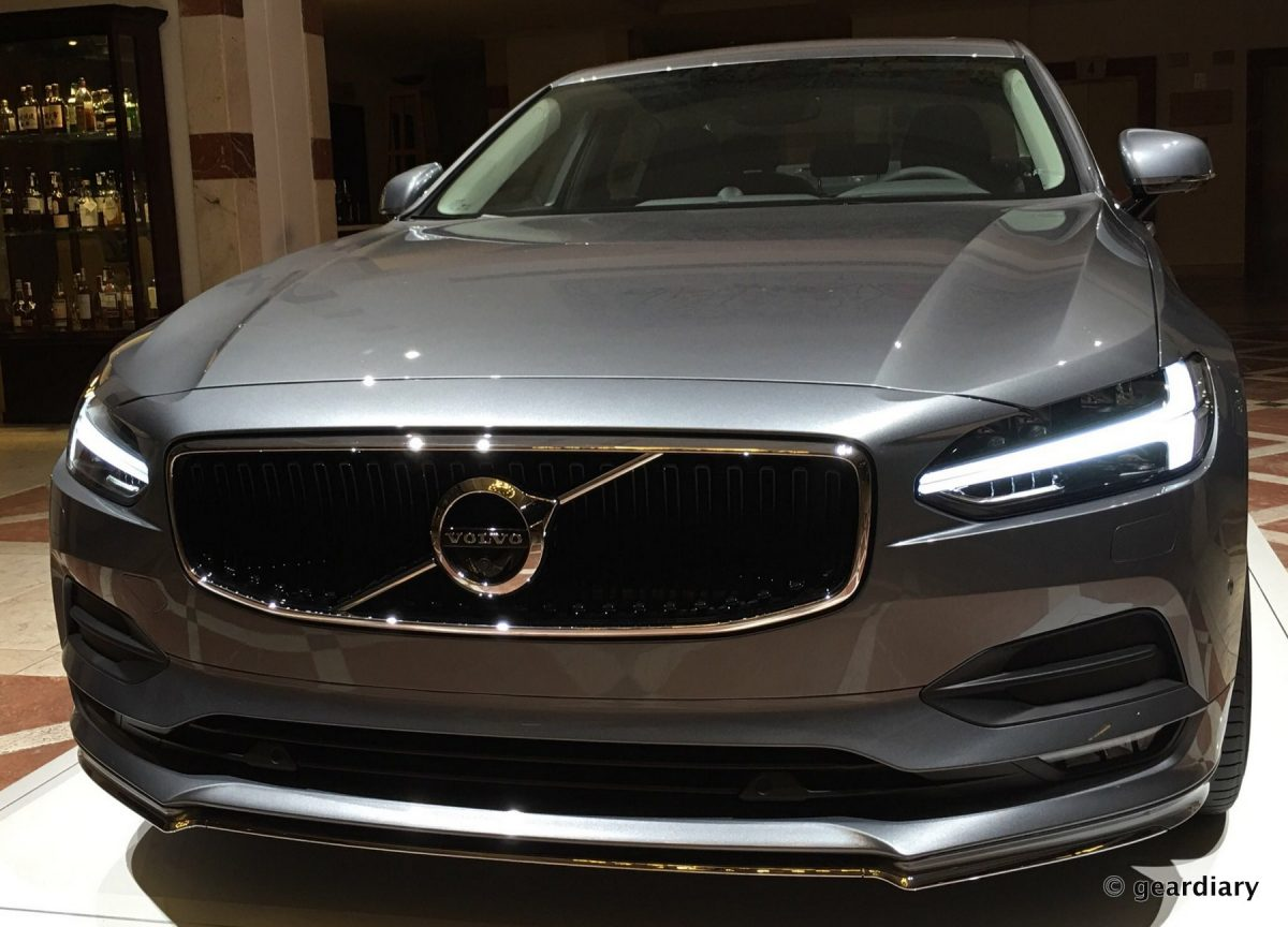 GearDiary The New Volvo S90 First Drive: Comfortable, Elegant, Safe, and Loaded with Tech