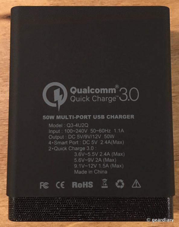 09-Choetech 50W 6-Port Desktop USB Charger-008