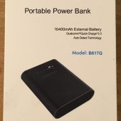 Choetech 10,400mAh Portable Power Bank: Plenty of Power in the Palm of Your Hand