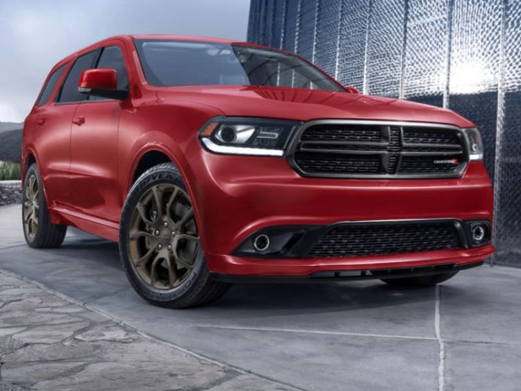 2016 Dodge Durango/Images courtesy Dodge