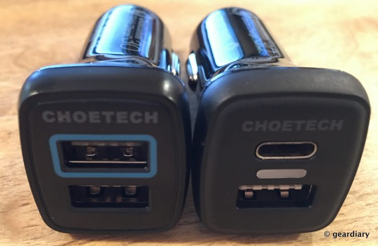 2-Choetech USB 3.0 Qualcomm Quick Charge Car Chargers 3216x2087