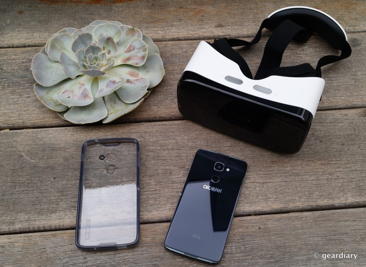 GearDiary The New Alcatel Idol 4S: Bundled with VR and Ready for Action!