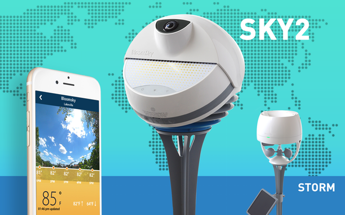 GearDiary The BloomSky Next-Gen SKY2 and STORM: A Community-Based Smart Weather Camera Station