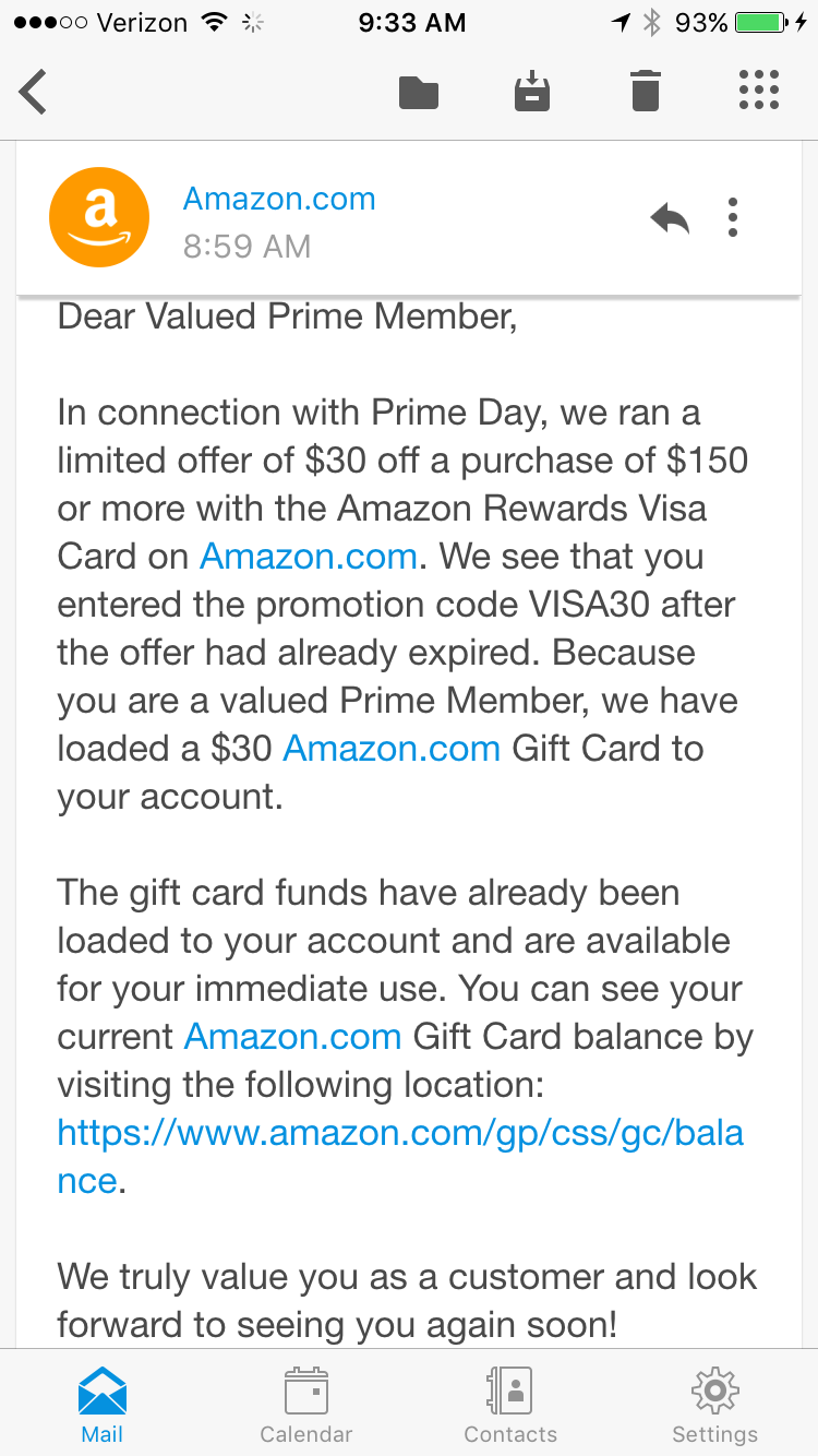 GearDiary Miss Out on Amazon Reward Visa $30 Offer? Maybe Not!