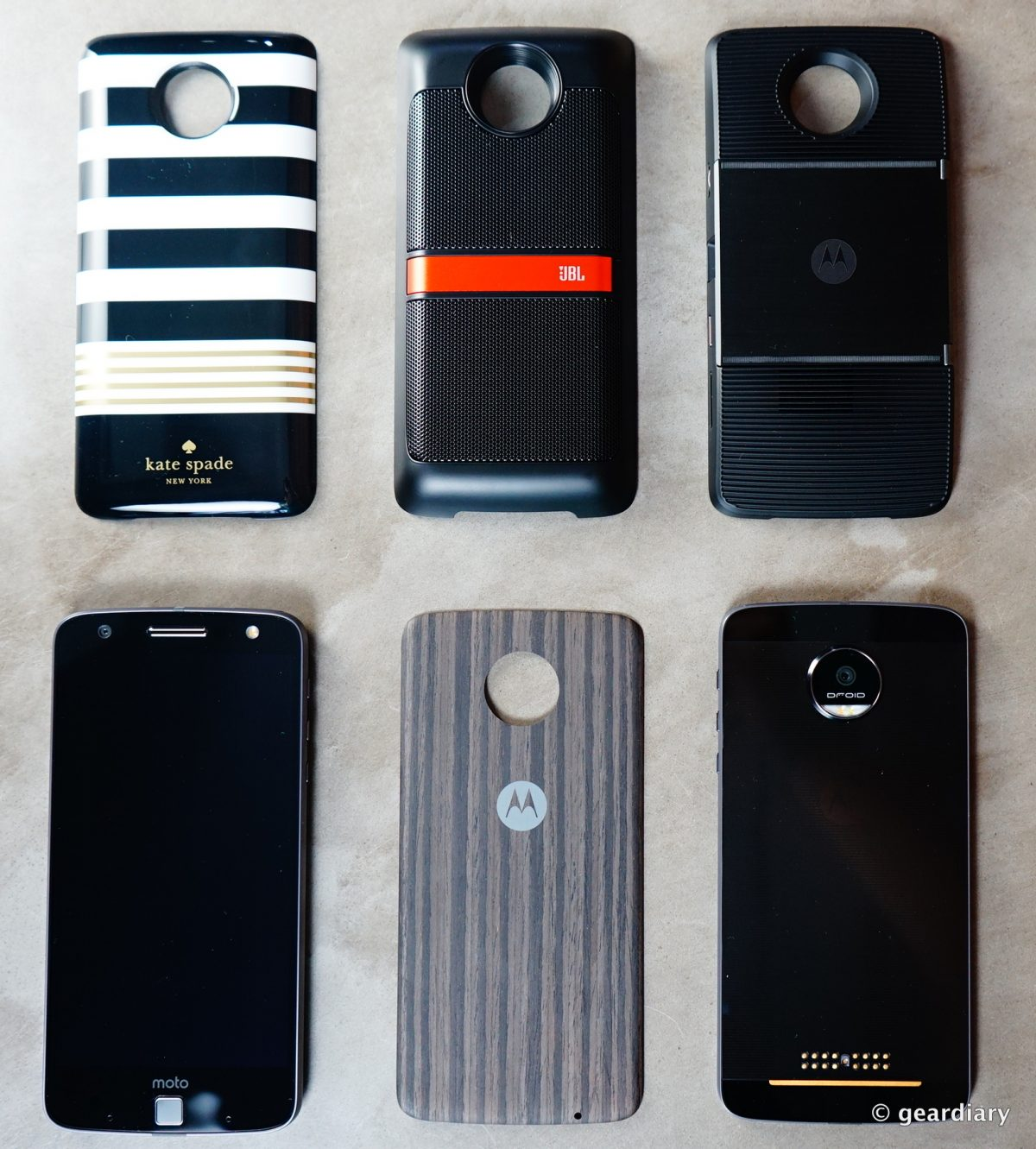 GearDiary Up to 40% off All Moto Mods for the New Moto Z Droids from Verizon