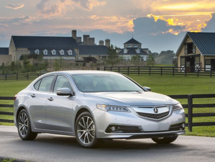 2016 Acura TLX/Images courtesy Acura