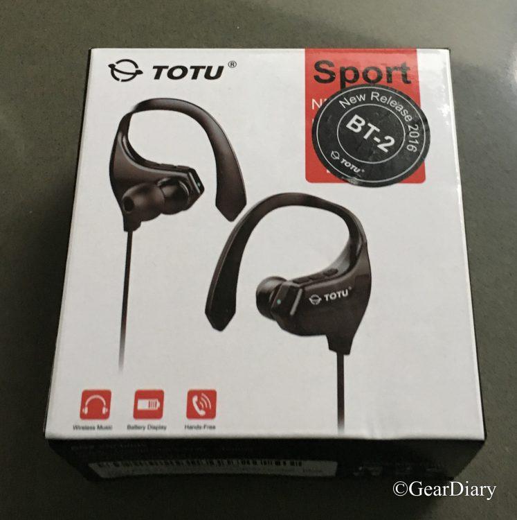 GearDiary TOTU BT-2 V4.1 Bluetooth Headphones Wireless Sports Headset for the Win!