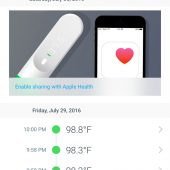 The Withings Thermo: Easy Accurate Temperature Readings without Contact