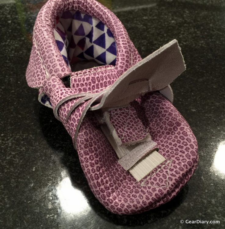 GearDiary KINBE's Gorgeous Adjustable Moccasins Grow with Your Child