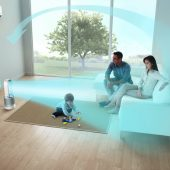 Dyson Pure Hot+Cool Link: Intelligent Purification, Heat, & Cooling