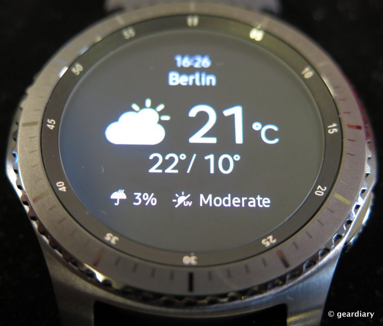 Samsung Gear S3 SmartWatch.49