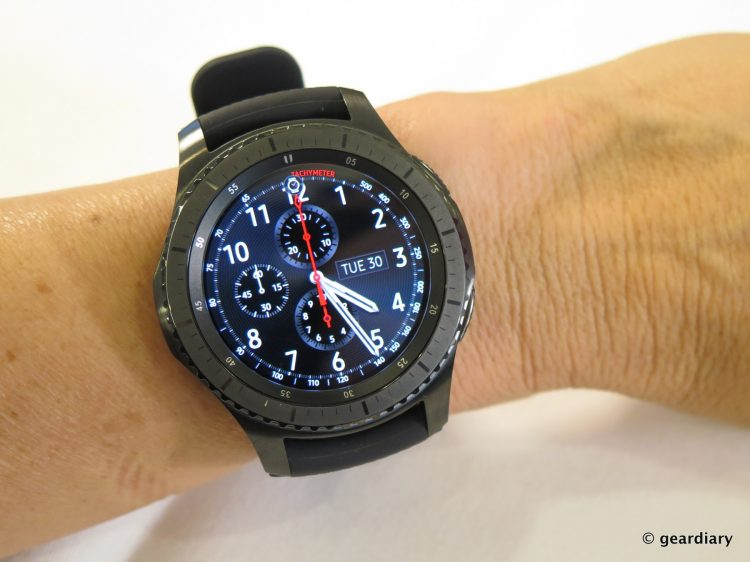 Samsung Gear S3 SmartWatch.53