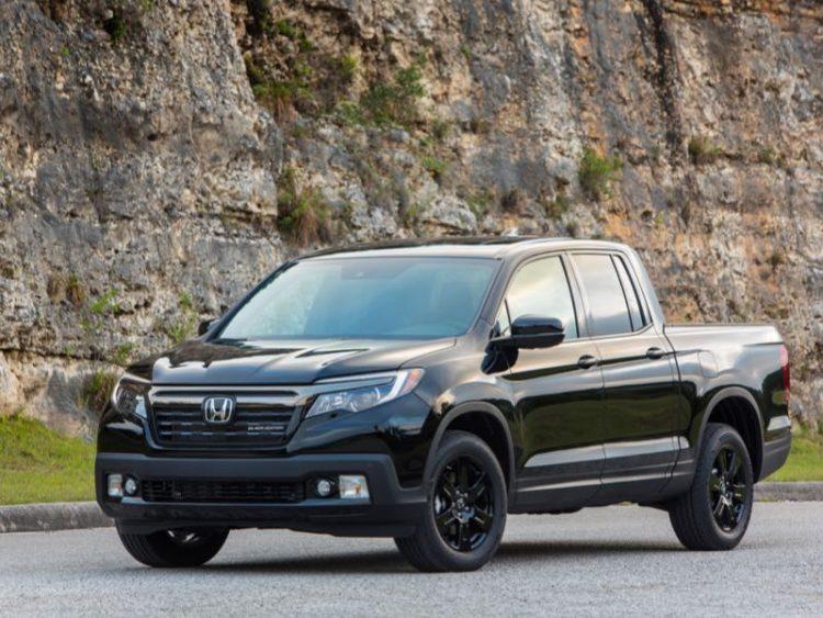 2016 Honda Ridgeline Black Edition/Images courtesy Honda