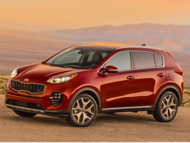 2017 Kia Sportage/Images courtesy Kia