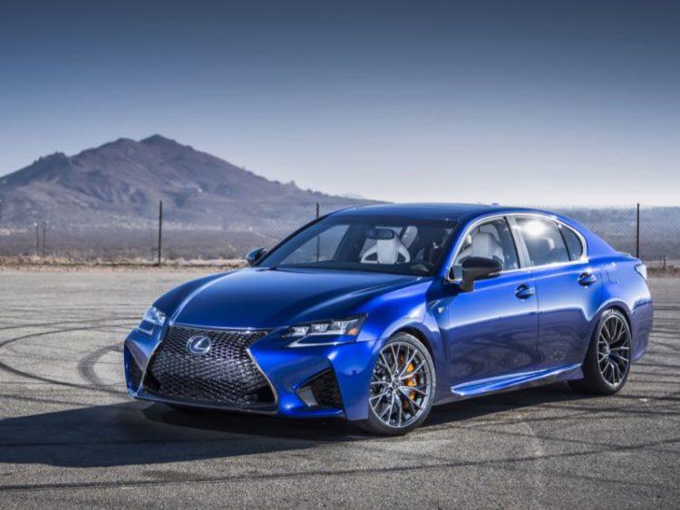 2016 Lexus GS F/Images courtesy Lexus