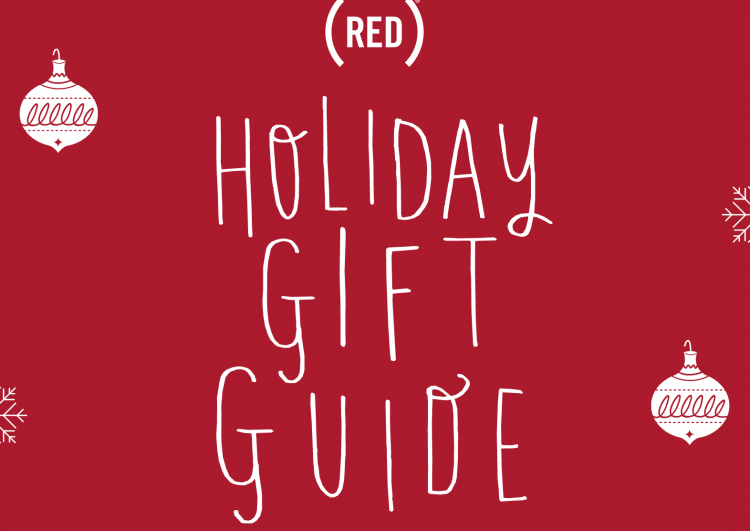 red holiday gift guide