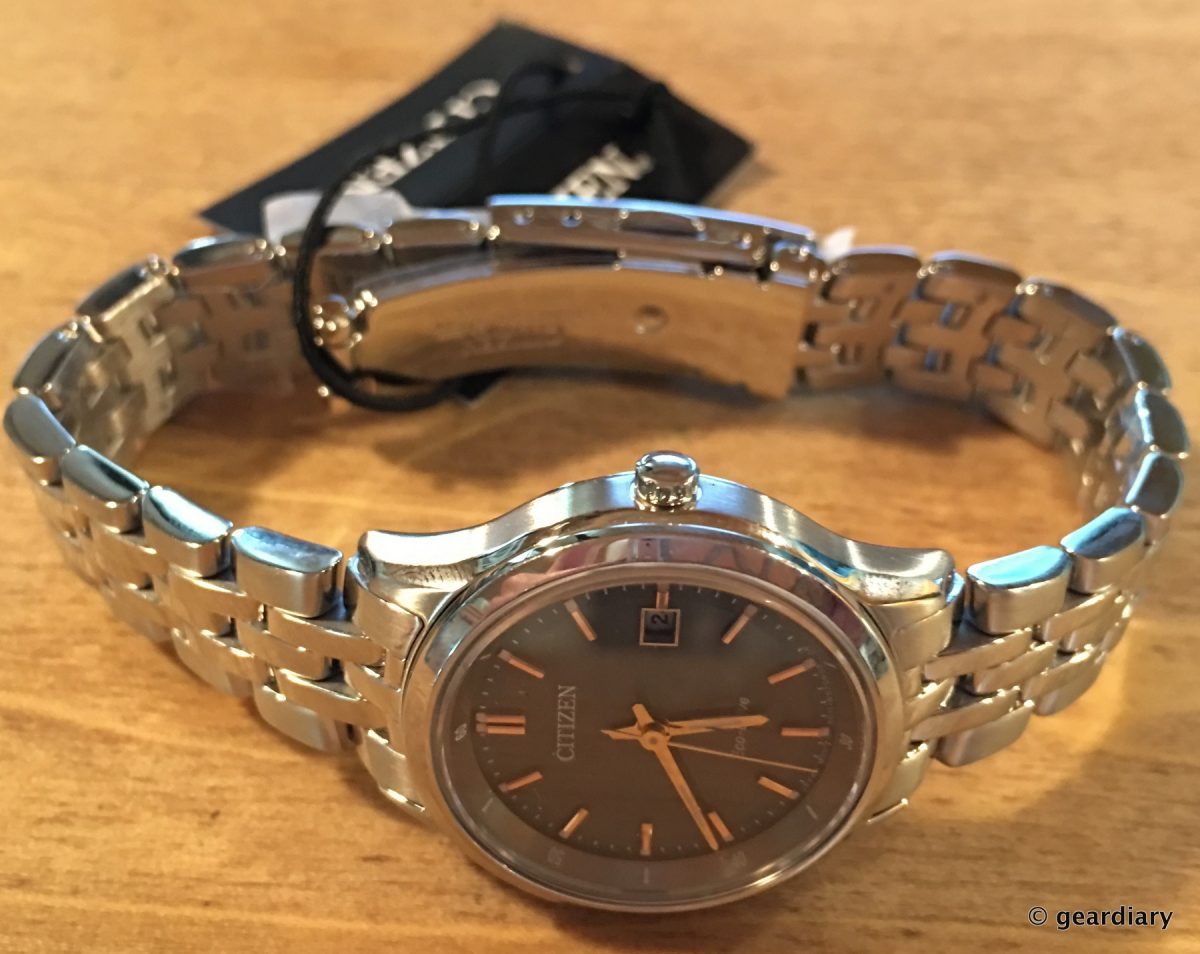 The Citizen Sapphire Eco Drive Watch Review Geek Cred In A Not So Visval Echo Khaki Geardiary