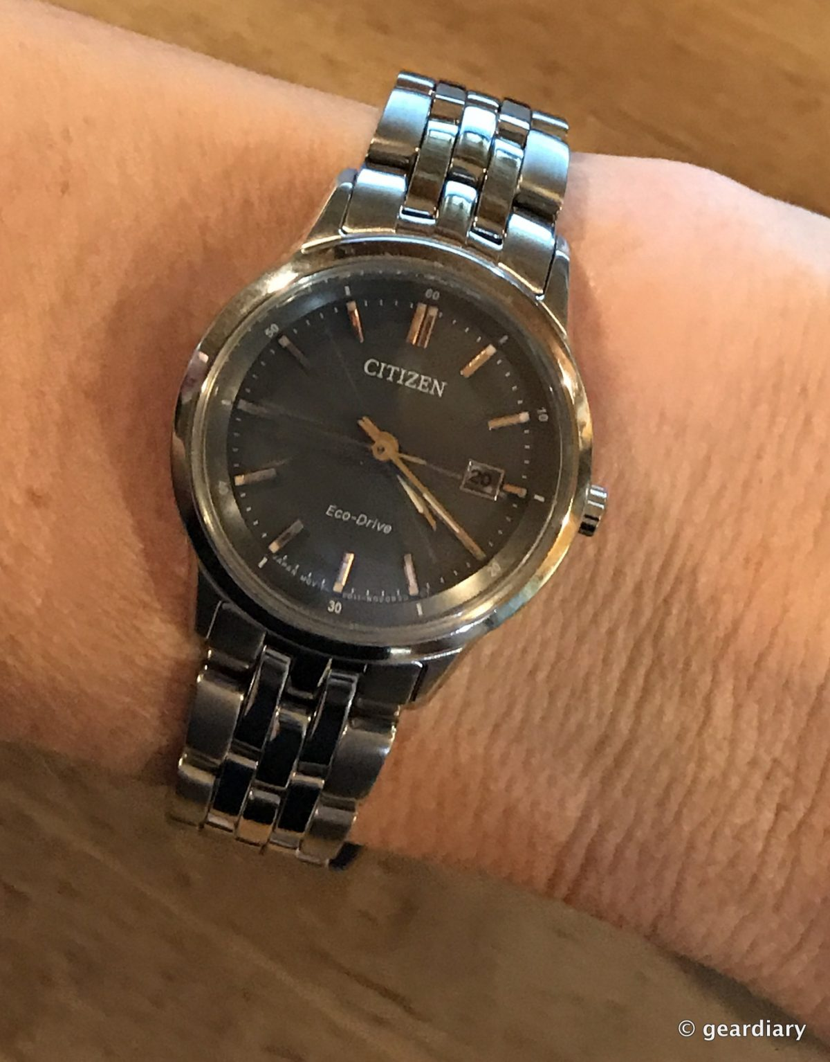 The Citizen Sapphire Eco-Drive Watch Review  Geek Cred in a Not So
