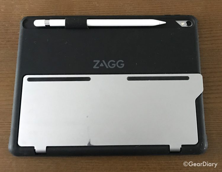"""GearDiary Go Pro with the ZAGG Slim Book Pro Wireless Keyboard and Detachable Case for iPad Pro 9.7"""""""