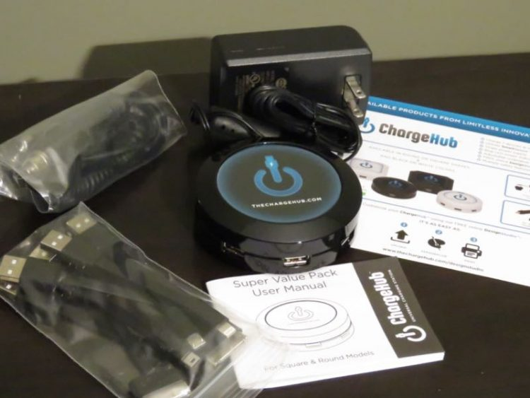 GearDiary ChargeHub X7 Puts You in 'Charge' of All of Your Devices
